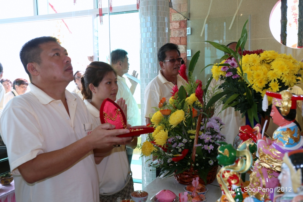 The Blessing of Hean Boo Thean玄母殿 , the Kuan Yin Floating Temple of Penang (4/6)