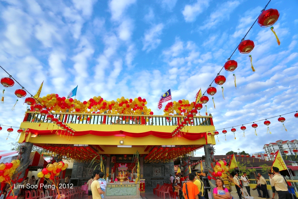 The Opening Ceremony of the Hean Boo Thean 玄母殿, the Floating Kuan Yin Temple of Weld Quay, Penang (1/6)