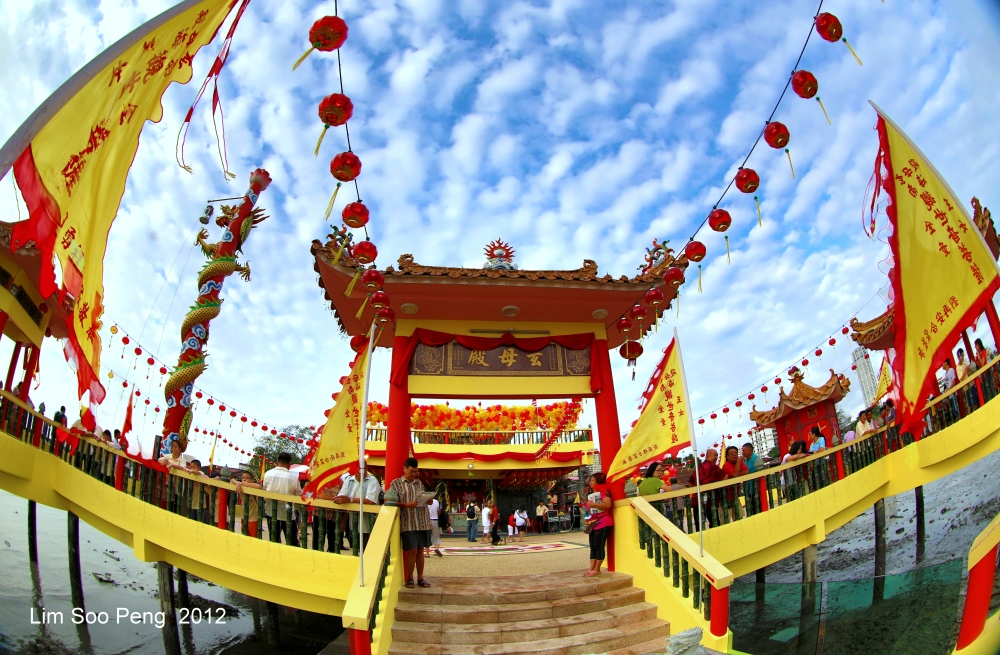 The Opening Ceremony of the Hean Boo Thean 玄母殿, the Floating Kuan Yin Temple of Weld Quay, Penang (5/6)