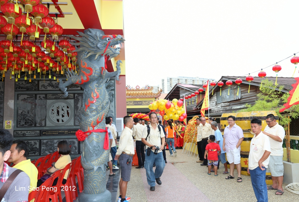 The Opening Ceremony of the Hean Boo Thean 玄母殿, the Floating Kuan Yin Temple of Weld Quay, Penang (3/6)