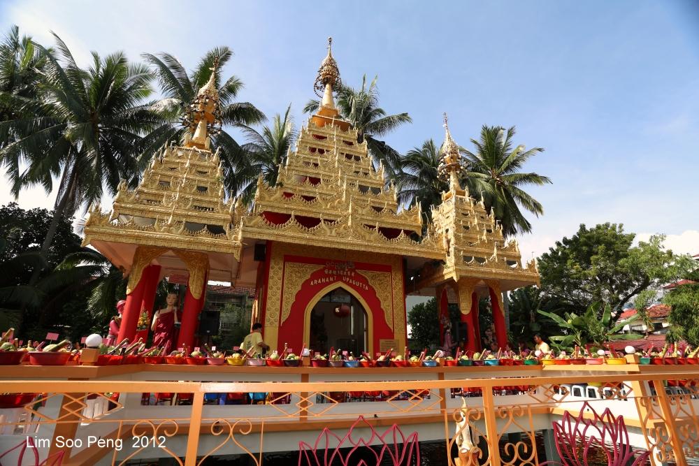 Arahant Upagutta Celebration at Dhammikarama Buddhist Burmese Temple, Penang (1/6)