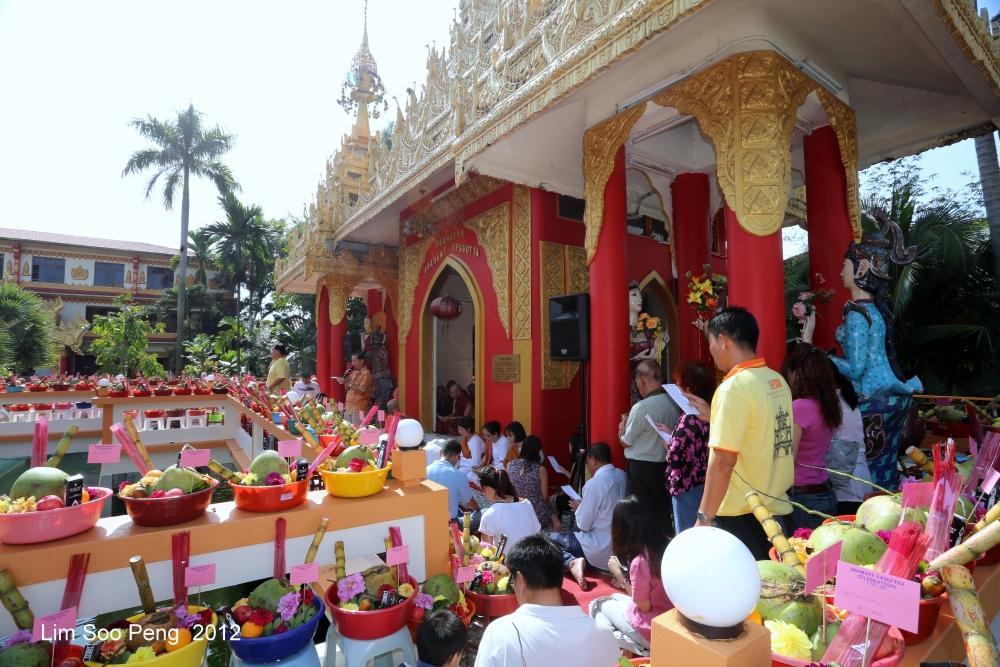 Arahant Upagutta Celebration at Dhammikarama Buddhist Burmese Temple, Penang (5/6)