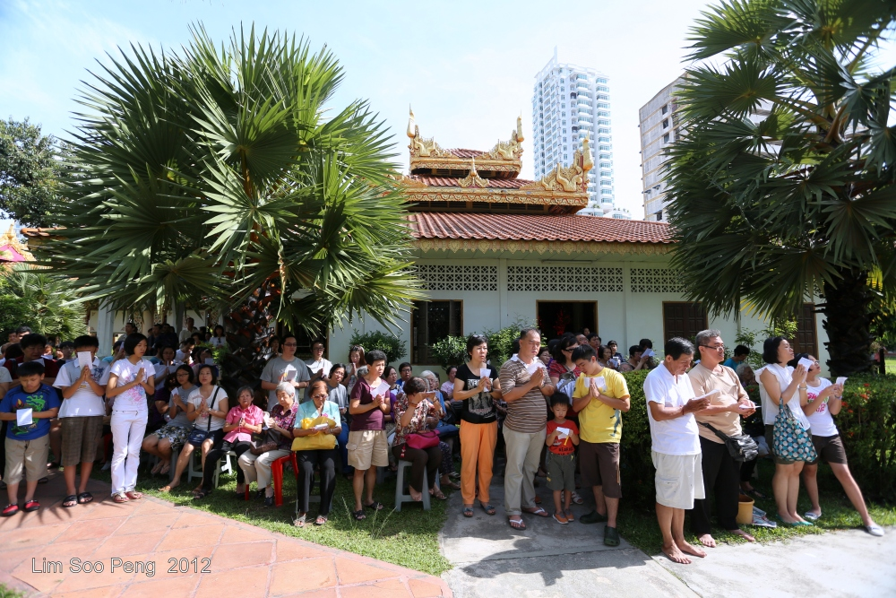 Arahant Upagutta Celebration at Dhammikarama Buddhist Burmese Temple, Penang (2/6)