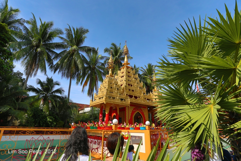 Arahant Upagutta Celebration at Dhammikarama Buddhist Burmese Temple, Penang (3/6)