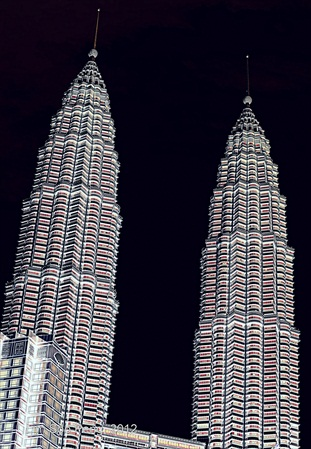 KLCC - the Twin Towers
