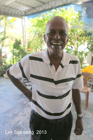 Second Personality featured - Mr Selvaraju