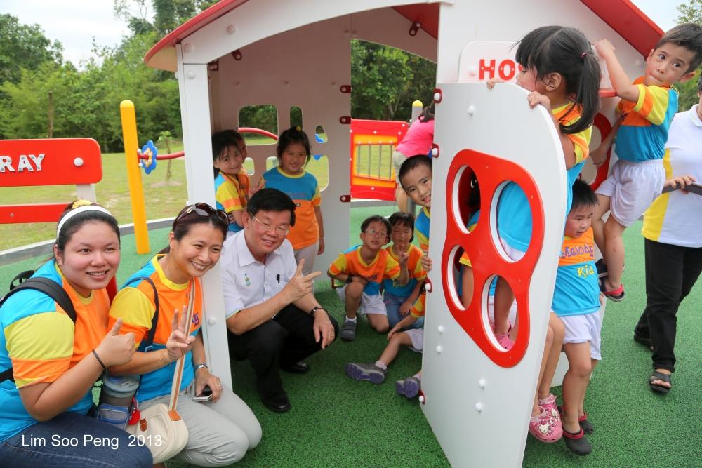The Opening Ceremony of Taman Permainan Mudah Akses (Accessible Playground) at Taman Perbandaran Pulau Pinang  (5/6)