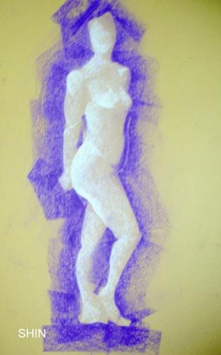 Shin HumanForm Sketch 005-001
