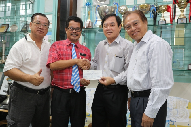 Donation to PFS 016