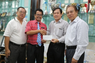 Donation to PFS 019