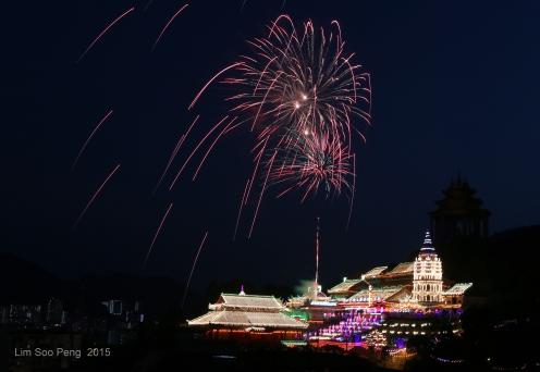 Kek Lok Si Fireworks 111