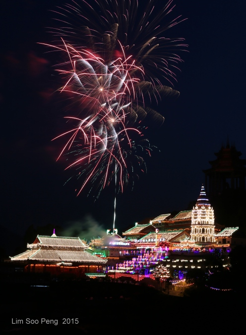 Kek Lok Si Fireworks 114