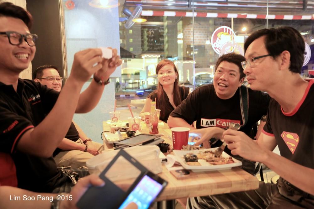 Canon EOS DSLR Gathering - March 2015 at Bread King, Summerton, Penang (3/6)