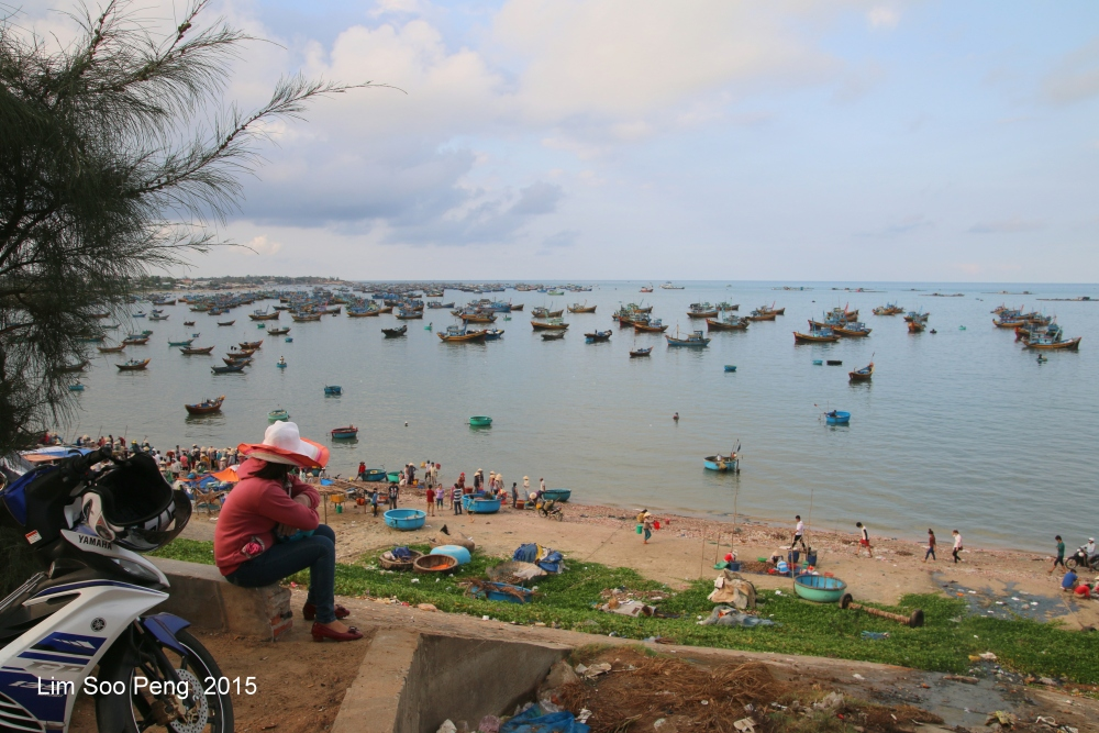 At the morning Wet Market of Seafood (1/6)