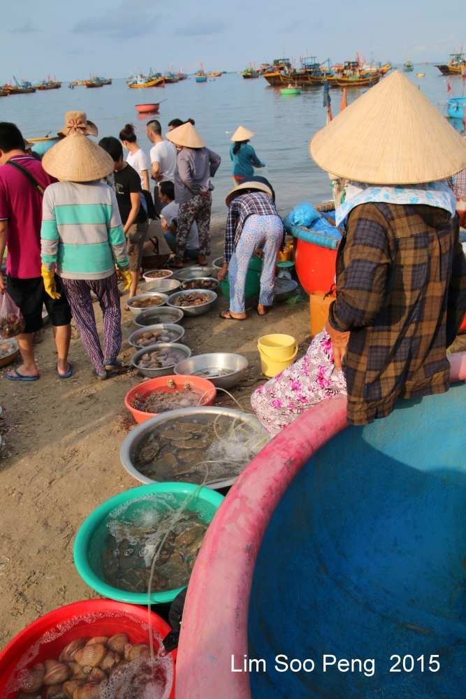 At the morning Wet Market of Seafood (3/6)