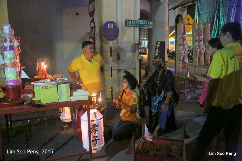 Celebrating the Taoist Dieties - Twa Pek and Jee Pek of the Underworld in Penang (1/6)