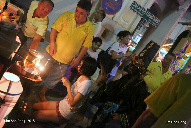 Celebrating the Taoist Dieties - Twa Pek and Jee Pek of the Underworld in Penang (5/6)