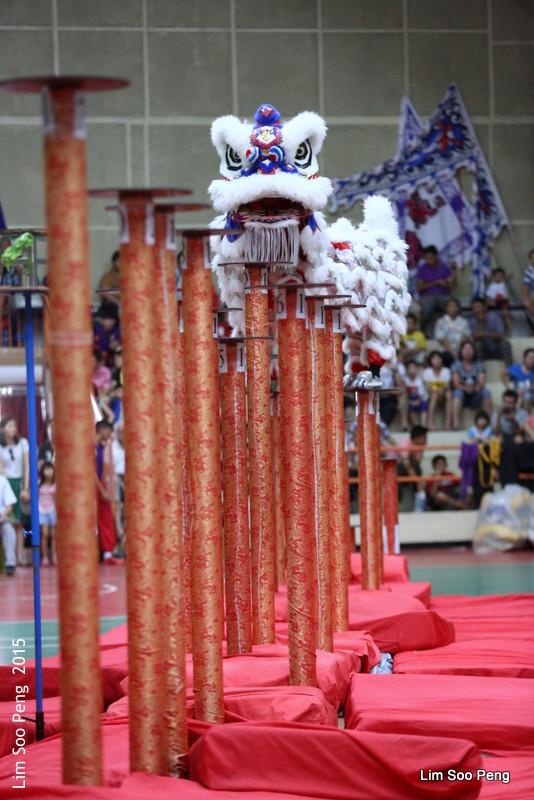 Lion Dance on Stilts (5/6)