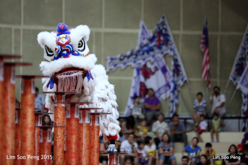 Lion Dance on Stilts (6/6)