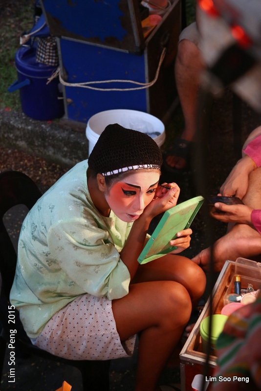 Make-up time at the Wayang (1/6)