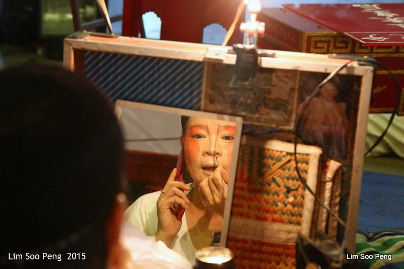 Make-up time at the Wayang (2/6)