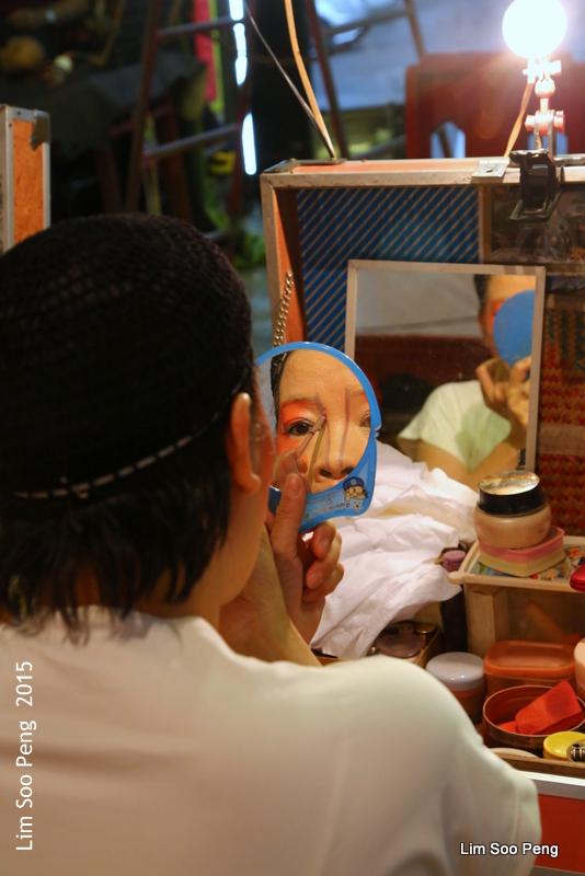 Make-up time at the Wayang (3/6)
