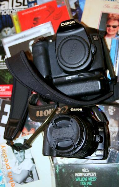 Cameras and Compact Dics.