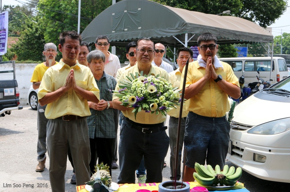 Funeral of Mrs Kung
