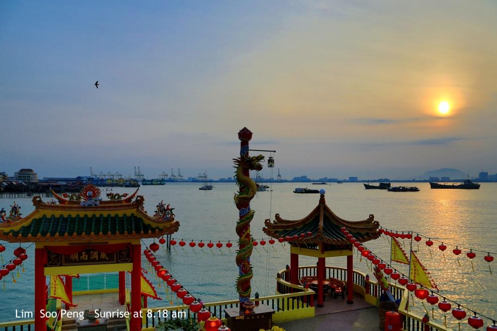 Sunrise at Hean Boo Thean