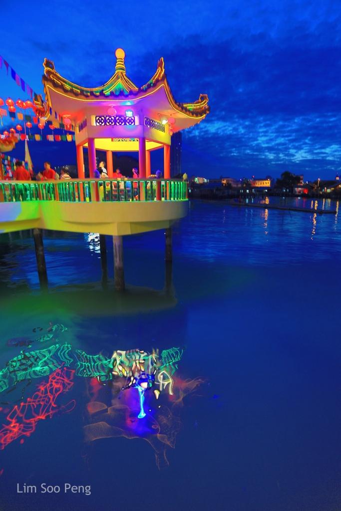 Floating Kuan Yin Temple
