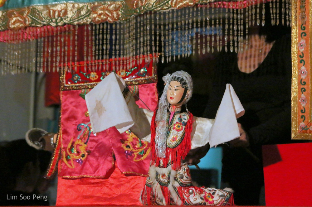 The Puppet Show continues at the  潮藝館 ~ Teochew Puppet & Opera House, Armenian Street, Penang.