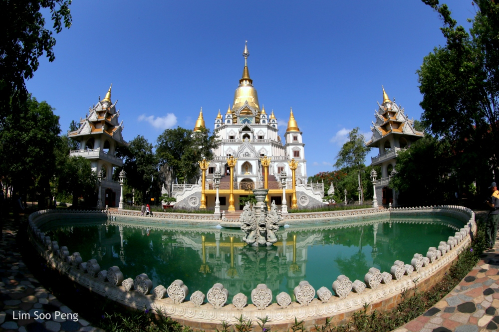 <strong>The Thai Buddhist Temple in Vietnam</strong>