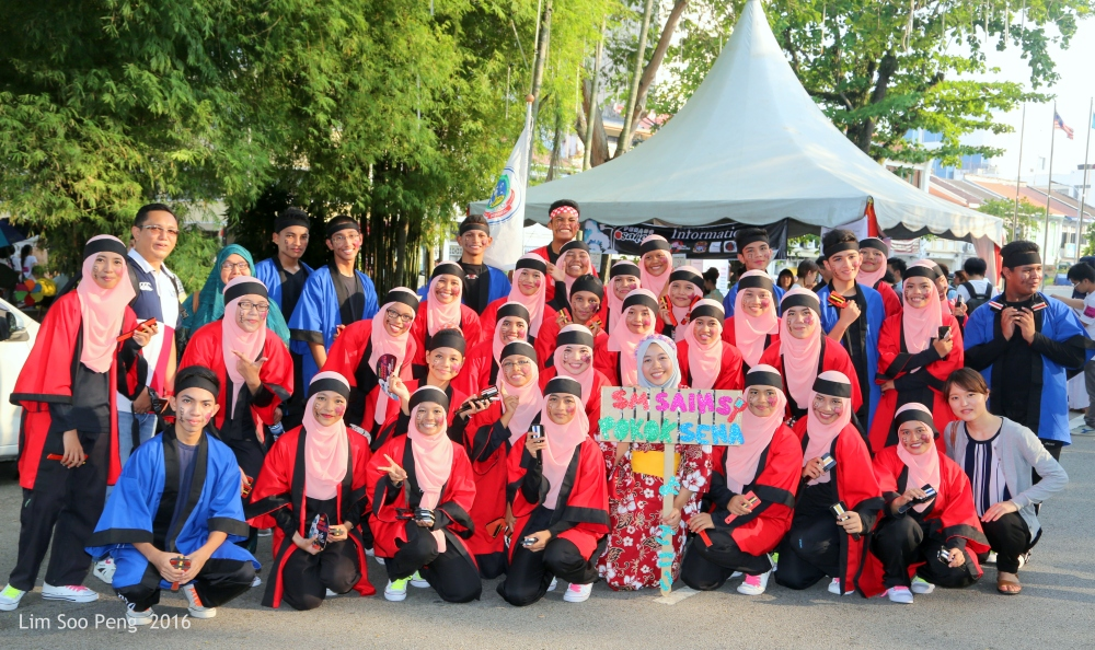 The Yosakoi Group from the Science School of Pokok Sena, Kedah.