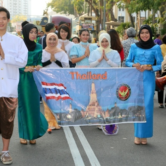 The delegation from the Kingdom of Thailand.