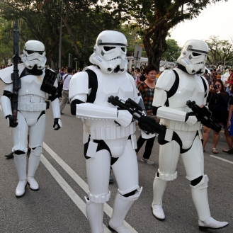 The lost Stormtroopers lost and trapped in Penang.