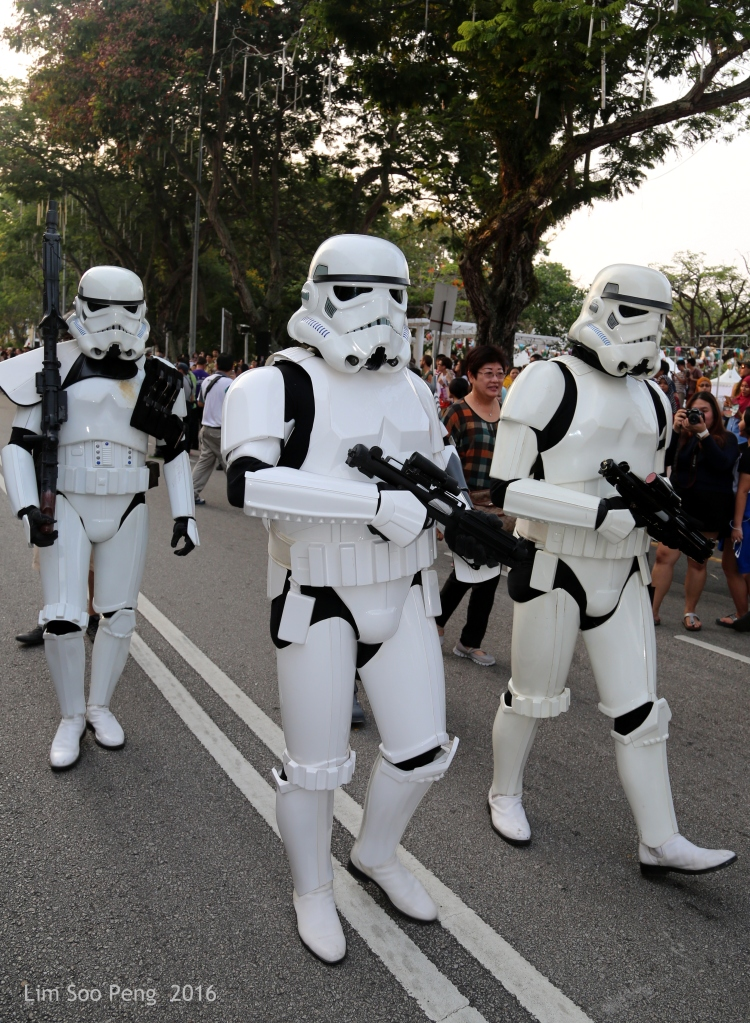 The lost Stormtroopers  trapped and stranded in Penang.