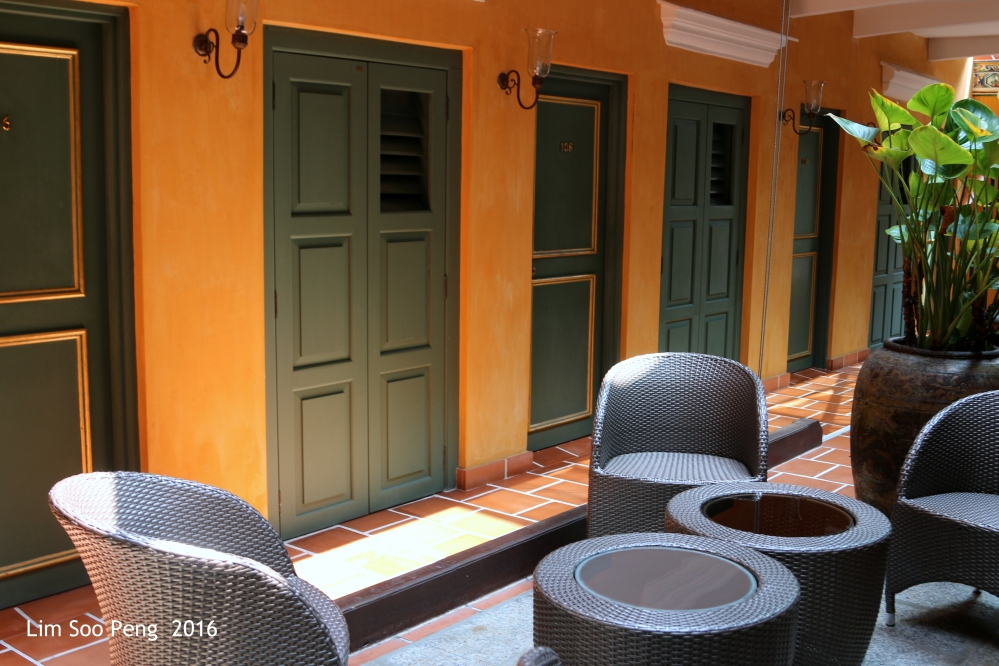Rooms of the Yeng Keng Heritage Hotel, Chulia Street, Penang