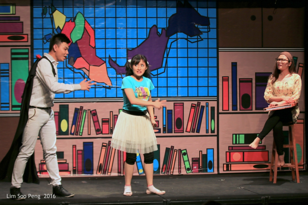 """""""The Day I Met The Prince""""  the USM's Children Theatre in English ~ Part 4"""