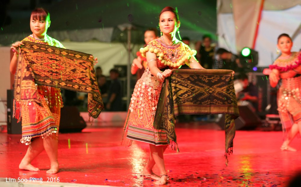 From the Gawai Harvest Festival 2016 in Penang