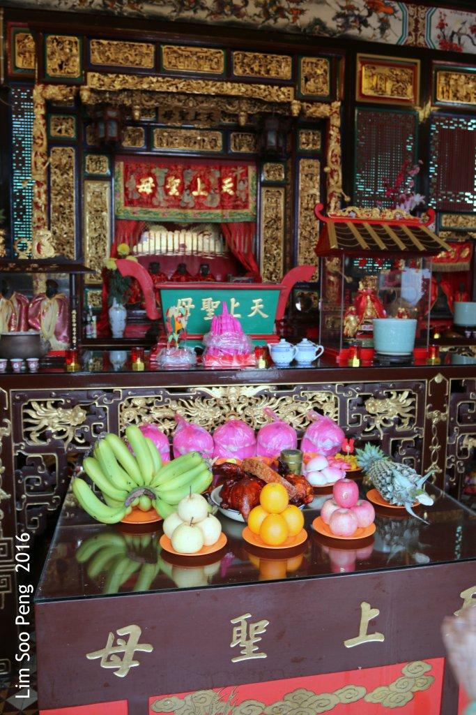 Mazu's Birthday Celebration at Lim Si Seang Kooi Tong as Mazu is the Patron Goddess of the Surname Lim Clan.