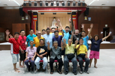 Wesak Dana was held on Saturday, 7th May, 2016 after the moving of the Wesak Main Float to the MBA Building.