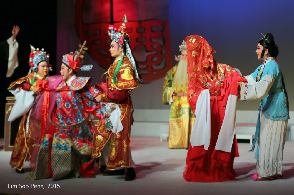 Teochew Opera  ~ The Tale of the  Dragon Princess .