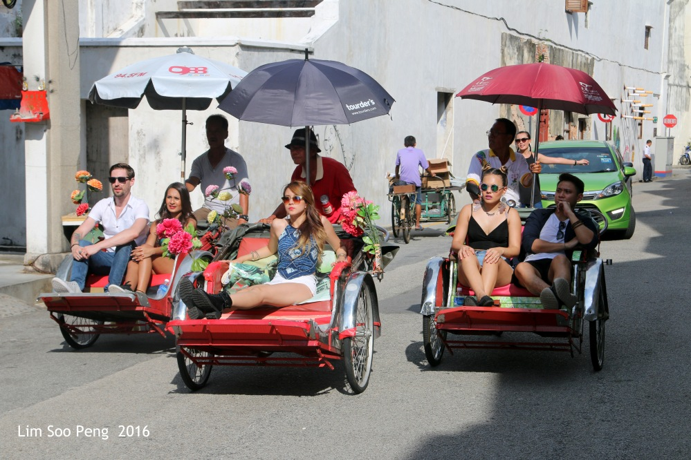 Activities at the Heritage Enclave of City of George Town, Penang, Malaysia