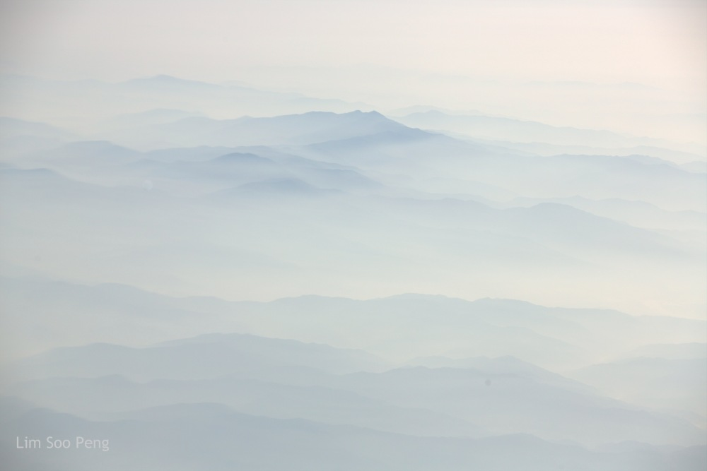 Misty Mountains of South Korea