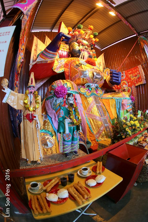 Tai Soo Yah Paper Effigy in Bukit Mertajam, Penang is second largest in Malaysia. It is the largest and very well hand-made in Penang.