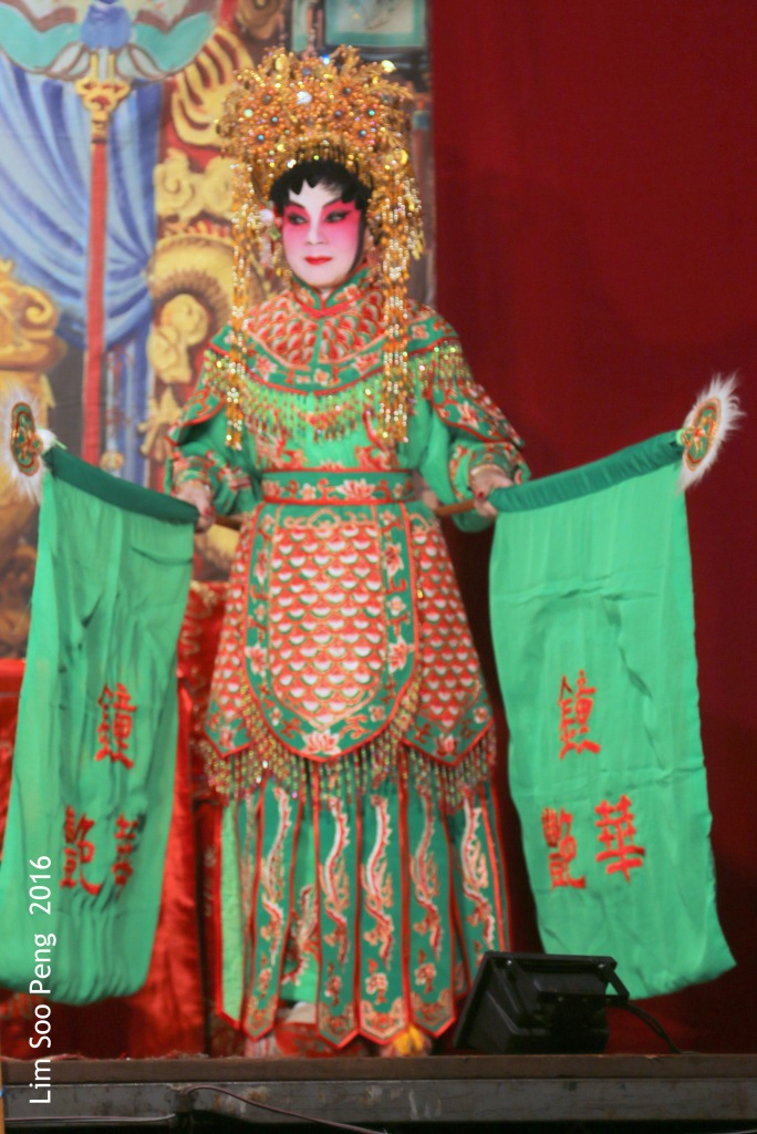 First Night of the Cantonese Opera of 2016 - Opening Congratulatory Tribute to the Taoist King of Hades.