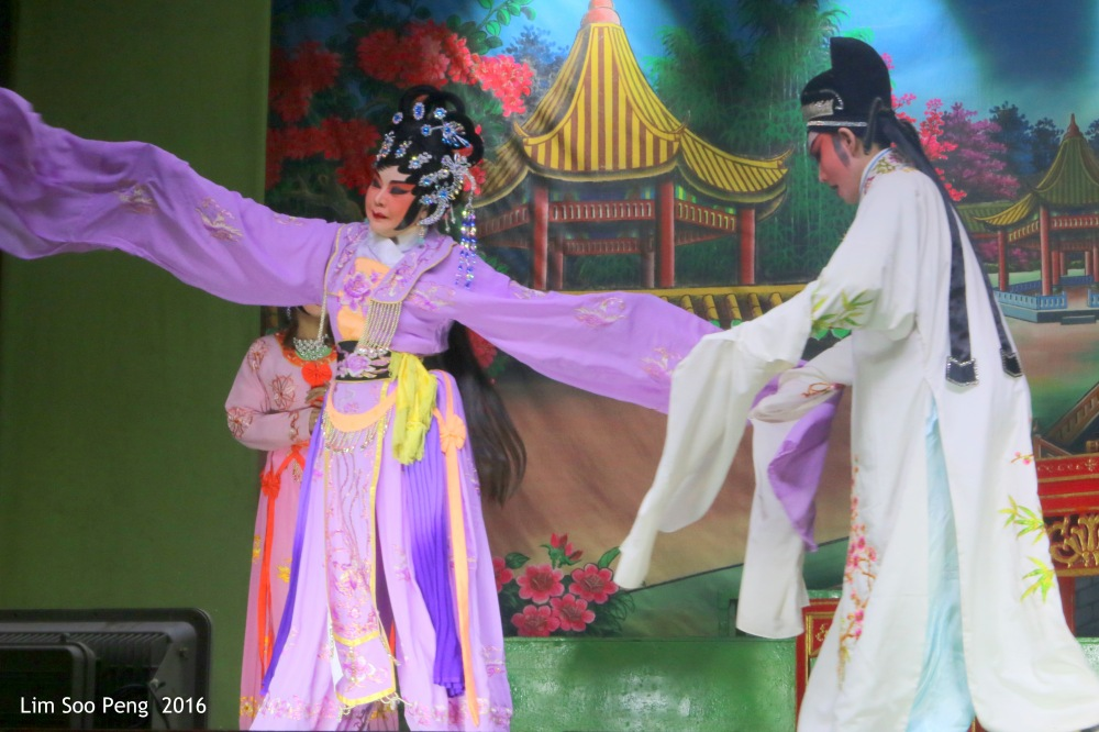 Back to Teochew Opera during the Hungry Ghost's Festival on Sunday, 21 August, 2016.