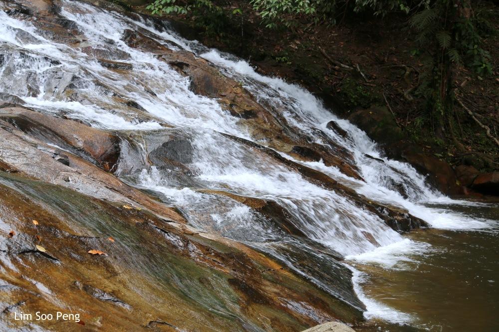 The Waterfall at Lata Bayu, Kedah.
