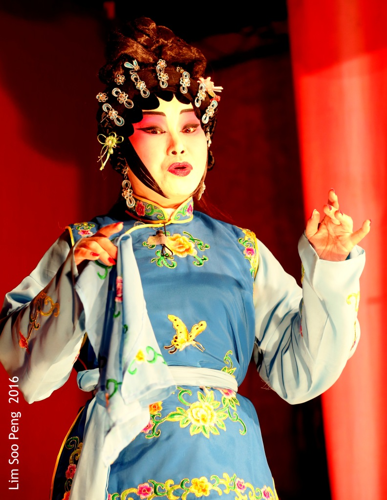 Second Night of Cantonese Opera on Saturday, 13 August, 2016 in Penang.