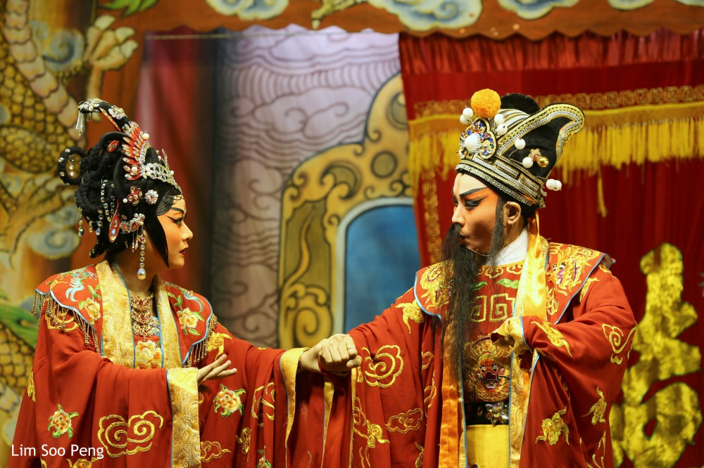 The Wayang or Chinese Opera Season starts with the Hungry Ghost Festival in Penang.